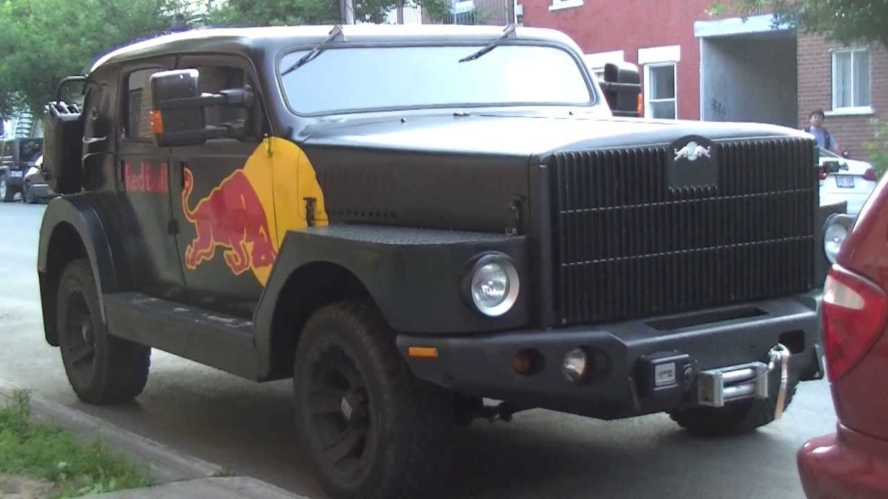 Red Bull Truck at Montreal. - YouTube