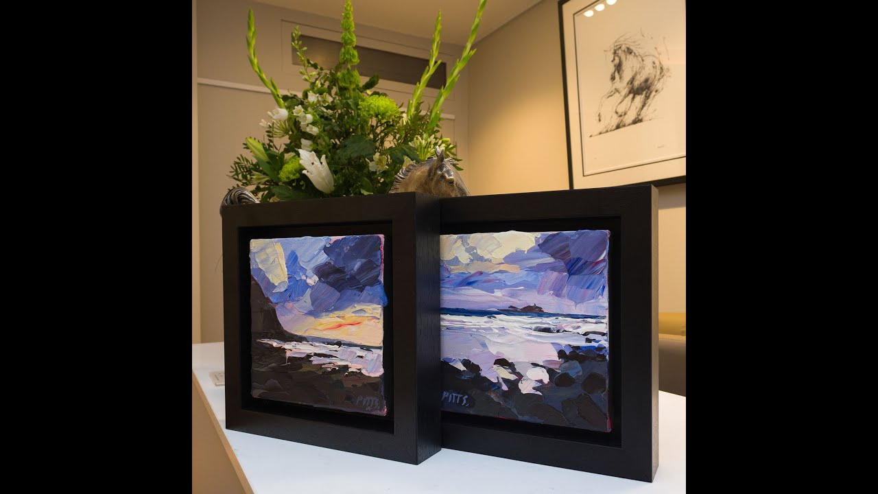 New Paintings on Canvas at Cotswold Contemporary