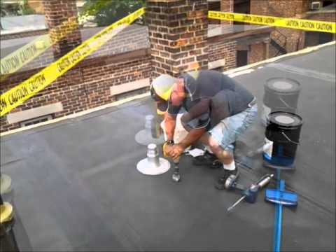 ProGuard Liquid EPDM Seamless Rubber Roof Installation by Recon Roofing