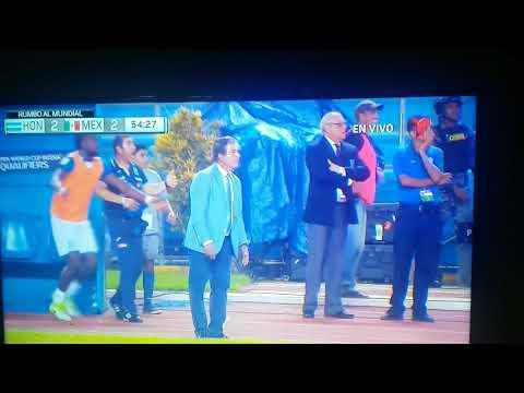 Honduras vs Mexico 2-2 Goal de Memo Ochoa concacaf 2018
