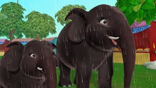 Hathi Aur Darjee - The Elephant and the Tailor | Hindi Stories for Children | Infobells