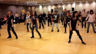 Levels ~ Will Craig - Line Dance @ 2015 Windy City Line Dance Mania