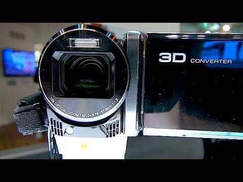 2D Camera that does 3D... wait... what? - JVC @ PMA Sydney 2011