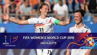 FIFA Women's World Cup | South Africa vs Germany | Highlights