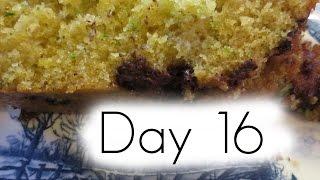 Vlog18 Day 16 : Chocolate Chip Zucchini Bread Recipe