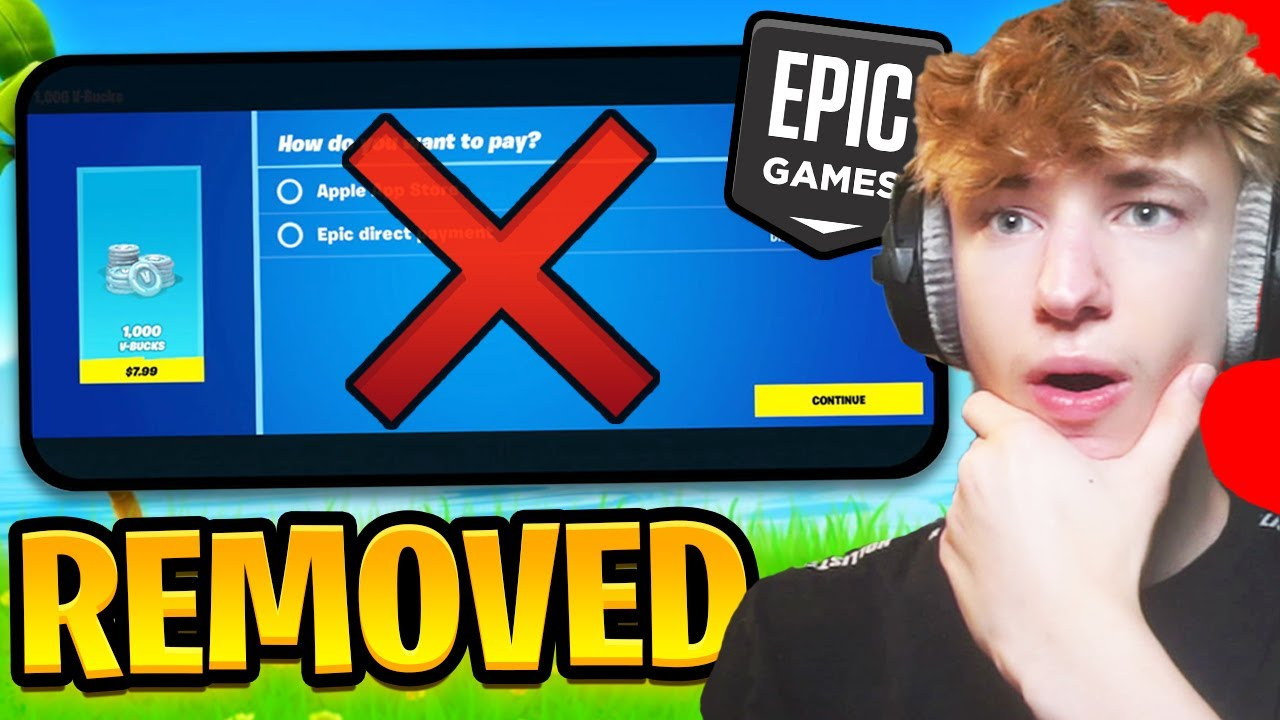 Fortnite Just REMOVED The Direct Payment System... (iOS saved?)