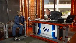 "Actor Michael Imperioli of 'The Wannabe"" Joins The RE Show in Studio - 11/10/15"