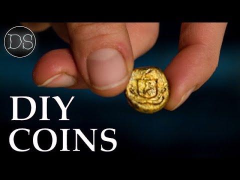 DIY MINI COINS 💰⚒