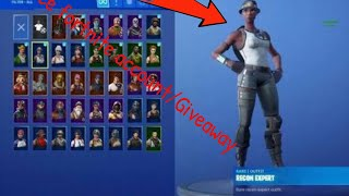 Fortnite account giveaway!!! FREEEEEEE