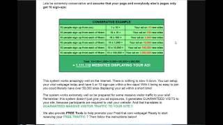 Free  Viral Traffic   make $ online now