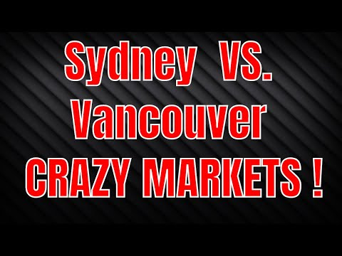 Vancouver VS Sydney Housing Crisis !! MUST WATCH