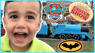 Thomas & Friends Fun Train Ride, SLIME, Paw Patrol, Show Bag Shopping And More