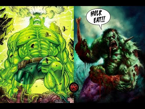 World Breaker Hulk vs. Zombie Hulk - Full Analysis