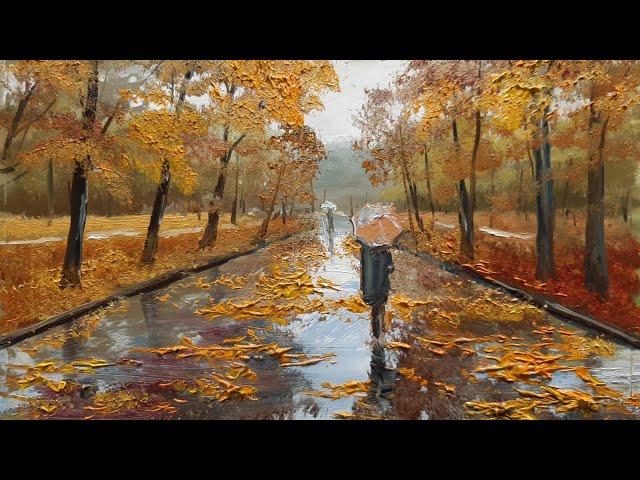 Осенний дождь -Autumn rain .Vugar Mamedov