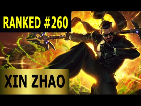 Geheimagent Xin Zhao Jungle - Full League of Legends Gameplay [German] Let's Play LoL - Ranked #260