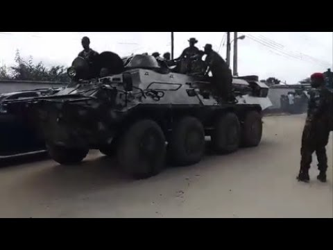 Heavy Army Vehicles Storm Port Harcourt (Happening Now)