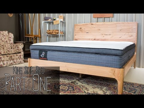 Building A Beautiful King Size Bed - Part One