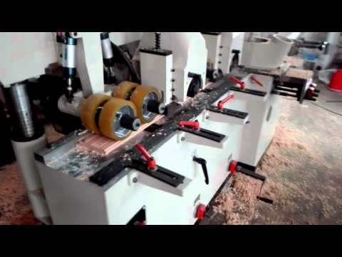 High precision and high speed Four Side Moulder/planer--- QINGDAO YICH Mechnical Technology