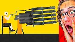 WORLD'S BIGGEST WEAPONS EVER MADE! (Happy Wheels #5)