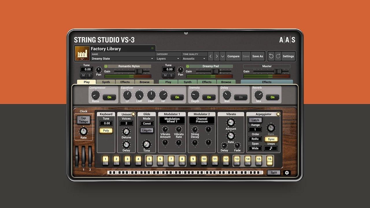String Studio VS-3 NEW