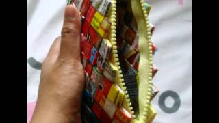 Kerajinan tangan dari bungkus mie instan