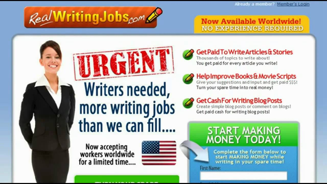 essay writer jobs Academia-research is an online academic writing and consulting company since 2004, we have worked to ensure the highest quality standards of service and offer a stable income for aspiring academic writers.
