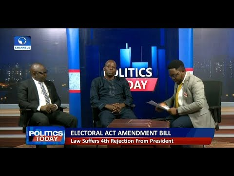 APC Chieftain, Lawyer Disagree Over Buhari's Rejection Of Electoral Act Amendment Bill Pt.1
