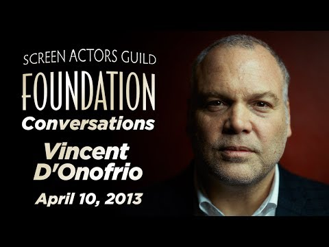 Conversations with Vincent D'Onofrio