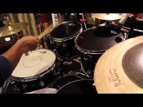 J. Cole | Foldin Clothes Drum Cover