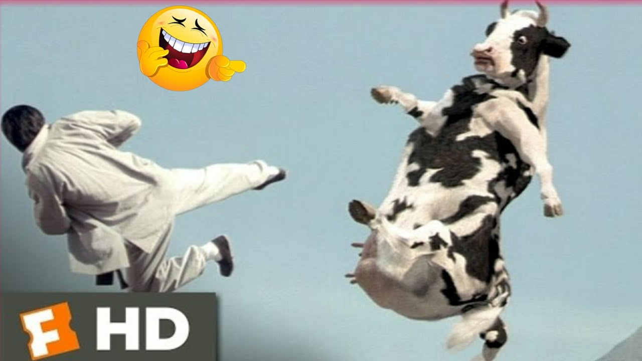 Download Kung Pow: Enter the Fist (4/5) Movie CLIP - Cow Fight (2002) HD
