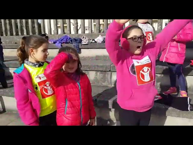 Carrera solidaria por la infancia en As Pontes