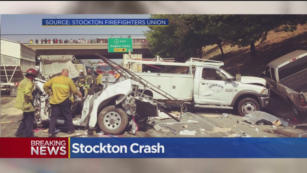 Deadly Stockton Crash Closes Part Of Crosstown Freeway