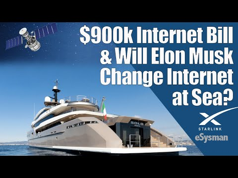 Crazy Costs of SuperYacht Internet 2020 ($900k for...)