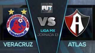 FUT AZTECA | Veracruz 0-1 Atlas | Clausura 2019 | Jornada 13