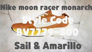 mamífero Establecer Gracias por tu ayuda  Nike Moon Racer Qs Monarch unboxing/Nike Moon Racer review - YouTube