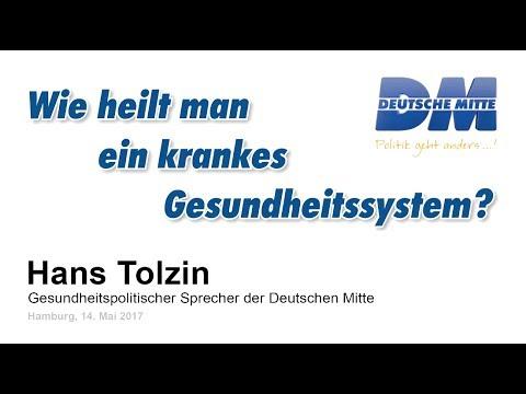 Wie heilt man ein krankes Gesundheitssystem - Hans Tolzin - YouTube