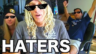 A MESSAGE TO THE HATERS. & FREE STICKERS!