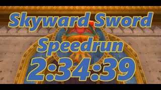 Skyward Sword Any% Speedrun in 2:34:39[World Record]
