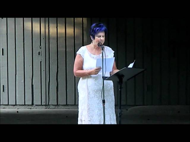Jude Neale - Poetry in The Park August 3, 2011