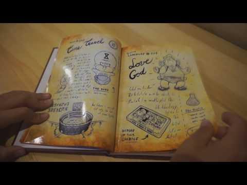 Обзор на 1 и 2 часть дневников из гравити фолз I перзалив