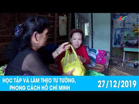 Một năm nhìn lại chuyên đề   HỌC TẬP VÀ LÀM THEO TƯ TƯỞNG PHONG CÁCH HỒ CHÍ MINH – 27/12/2019