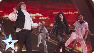 Meat Diva impressionists of the stars | Semi-Final 2 | Britain's Got Talent 2013