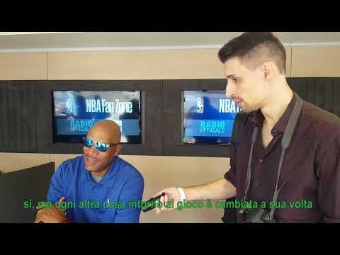 NBA Fan Zone 2017 Milano - Ron Harper intervista