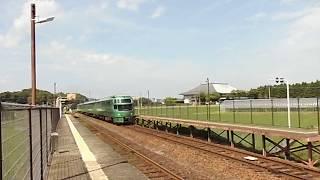 キハ72系特急ゆふいんの森豊後国分駅通過 2017 07 17