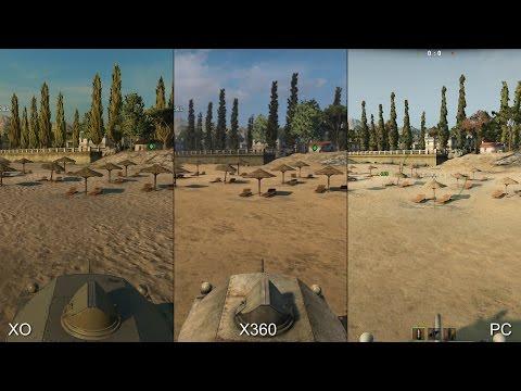 Специалисты Digital Foundry сравнили графически версии игры World of Tanks для Xbox One, Xbox 360 и PC
