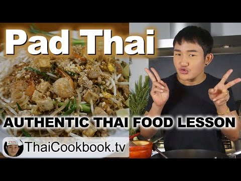 Authentic Thailand Recipe for Pad Thai Noodles – ผัดไทย – Easy at Home Method