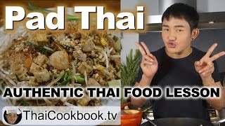 Authentic Thailand Recipe for Pad Thai Noodles - ผัดไทย - Easy at Home Method
