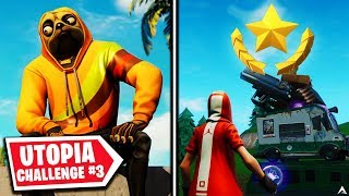 SECRET BATTLESTAR! Utopia Challenges Week 3 (Fortnite Season 9)
