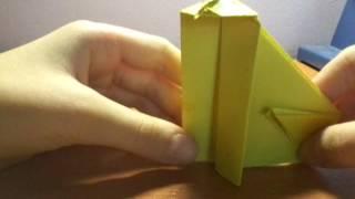 Оригами кошка