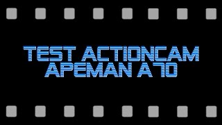 test mit einer actioncam von apeman type a70